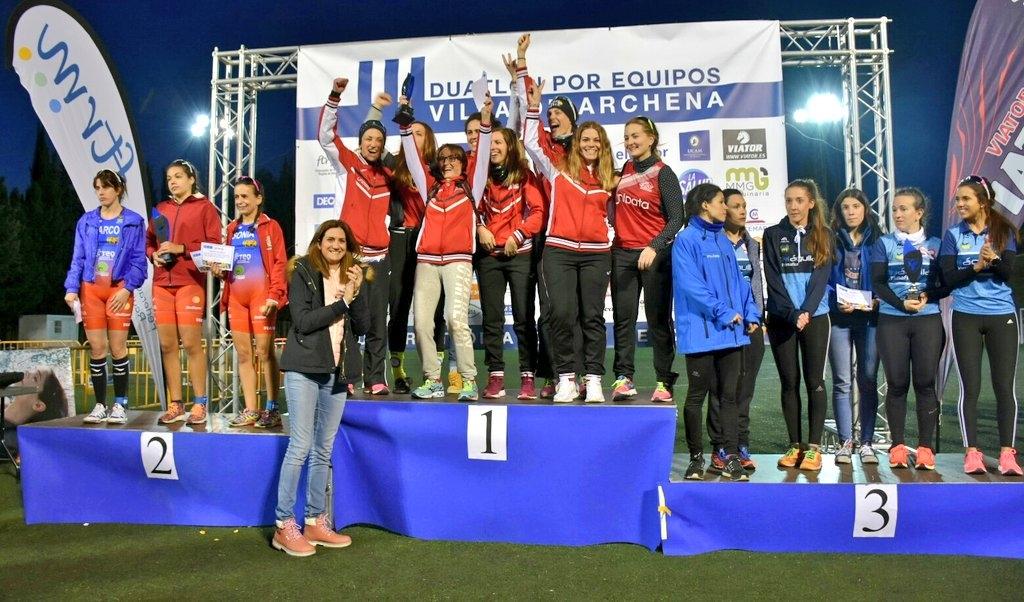 Club_Triatlon_Murcia_Unidata__Campeon_Regional_Duatln_por_Equipos_2018__Triatlon_Murcia_Archena_Femenino